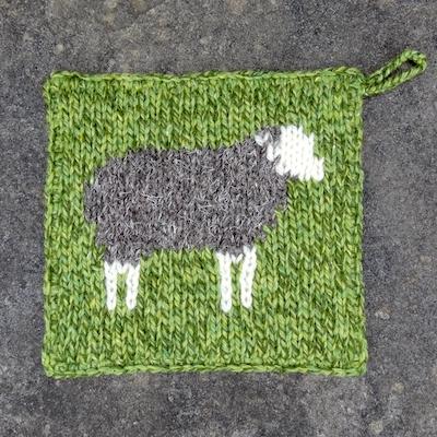 Pot Holder — Herdwick Sheep