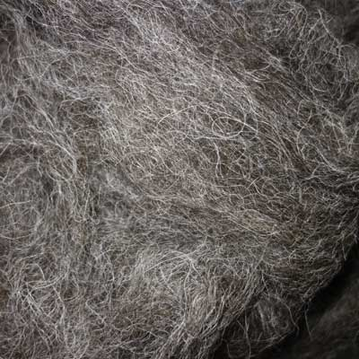 Alpaca & Hebridean 50:50 blend – 100g pack of sliver
