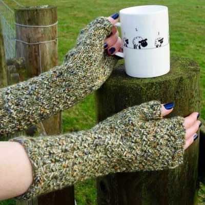Arkleby Armwarmers kit — Moss