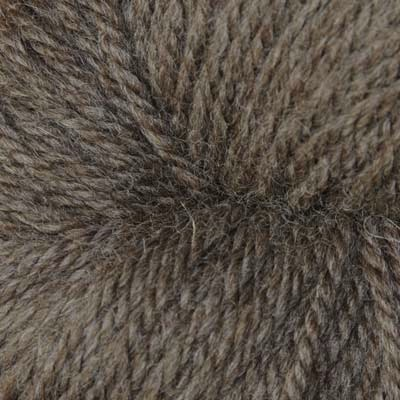 Bluefaced Leicester Brown wool (aran; 100g skeins)