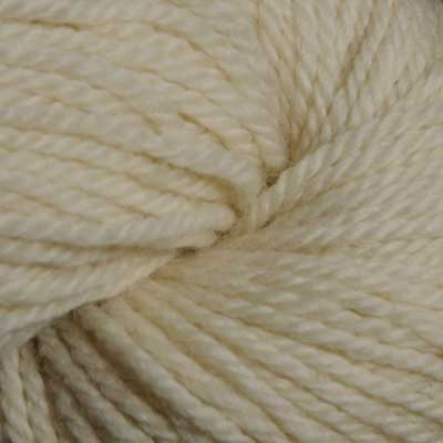 Bluefaced Leicester Ecru wool (aran; 100g skeins)