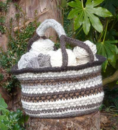 Bolga Basket pattern