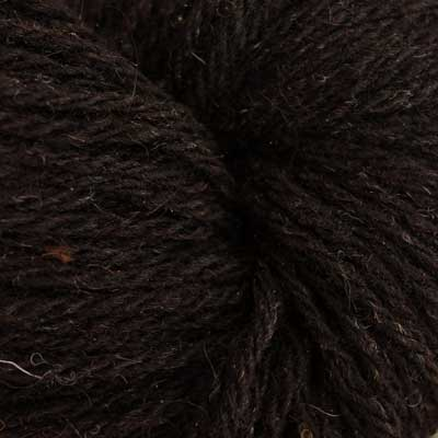 Black Welsh Mountain wool (DK, 100g skeins)