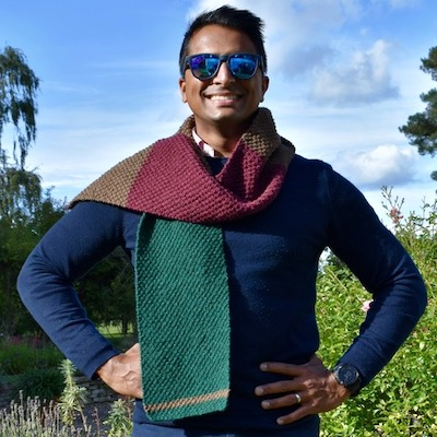 Colourblock Scarf kit