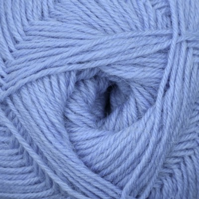 Cornflower wool, 4 ply (100g balls)