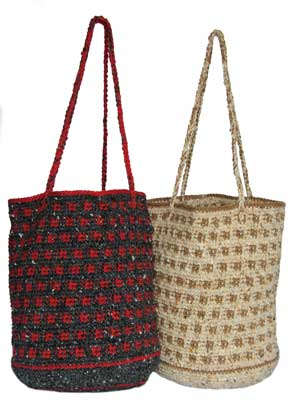 Crocheted Bucket Bag pattern