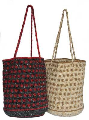 Crocheted Bucket Bag pattern