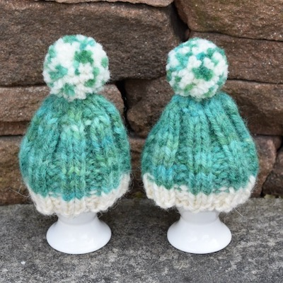 Egg Cosies — Hand-dyed in Hosta