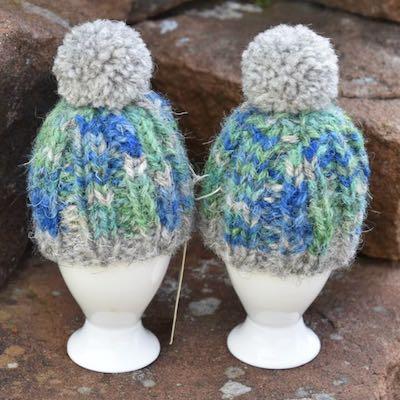 Egg Cosies — Herdwick Bluebells