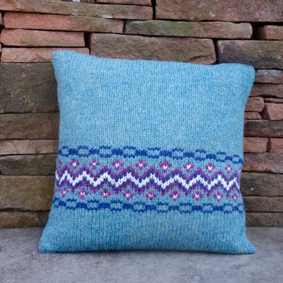 Fair Isle Cushion Kit