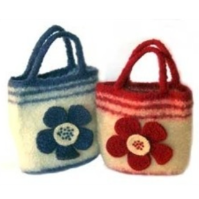 Flower bag pattern
