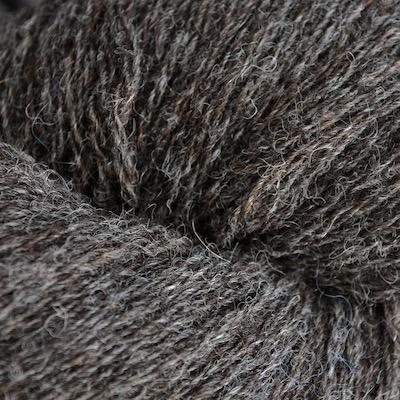 Jacob and Black Wensleydale DK wool: Graphite (100g skeins)