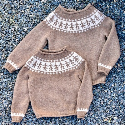 Hand-in-Hand — Children\'s Sweater