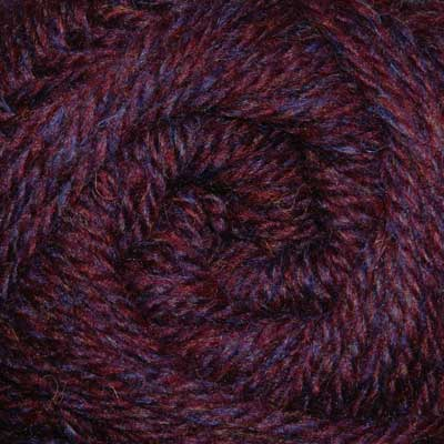 Loganberry wool, aran weight (100g balls)