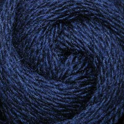 Navy wool, aran (50g balls)