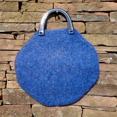 Octagon Bag in Indigo