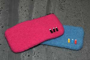 Pencil Case in hot pink