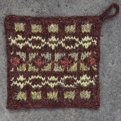 Pot Holder — Brown