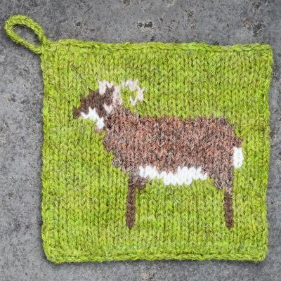 Pot Holder — Castlemilk Moorit