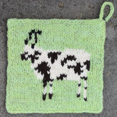 Pot Holder — Jacob Sheep