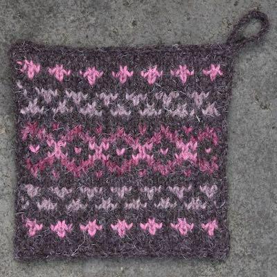Pot Holder — Pink