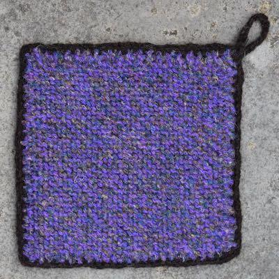 Pot Holder — Purple