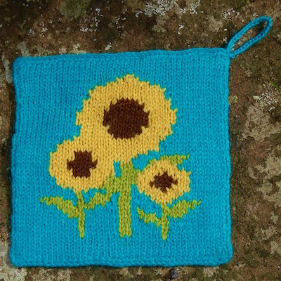 Sunflower Pot Holder Kit