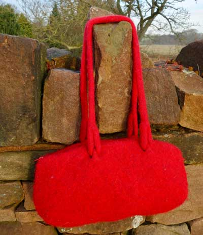 Retro Bag in Red