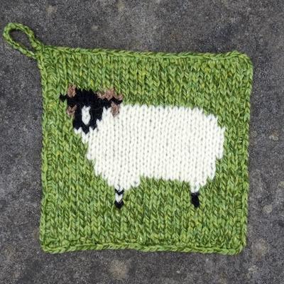 Pot Holder — Rough Fell Sheep