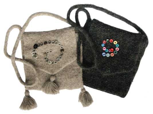 Simple shoulder bag pattern