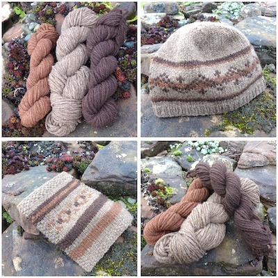 Spice Market (100g pack of hand dyed and natural DK wool)