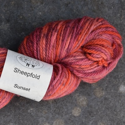 Sunset wool